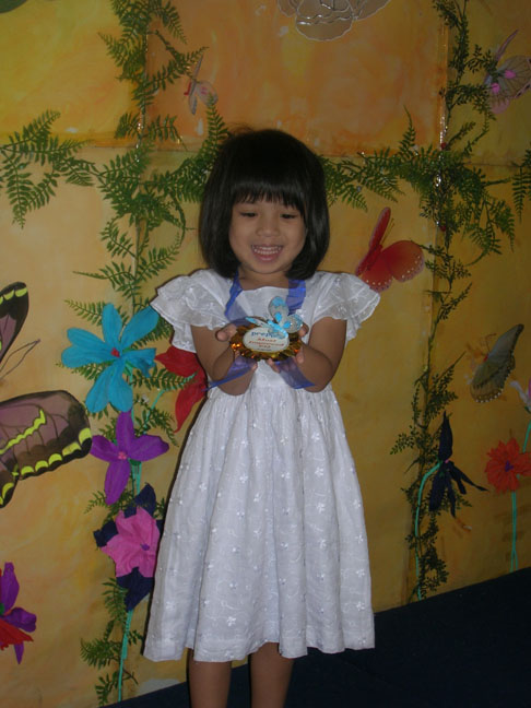 Preschool Girl Achiever